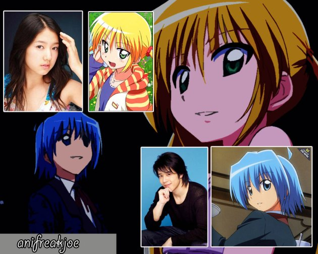 main cast of hayate no gotoku